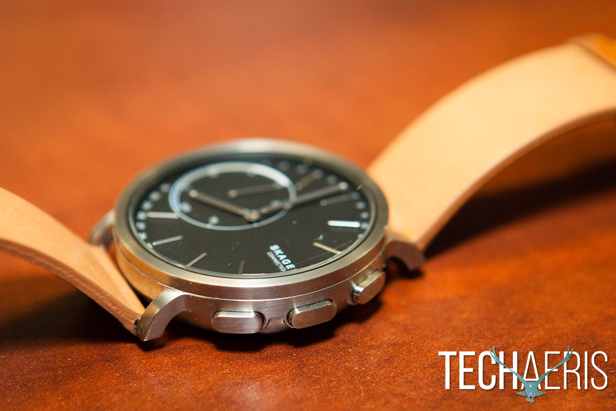 Hagen Connected Hybrid Smartwatch review: Basic smart ...
