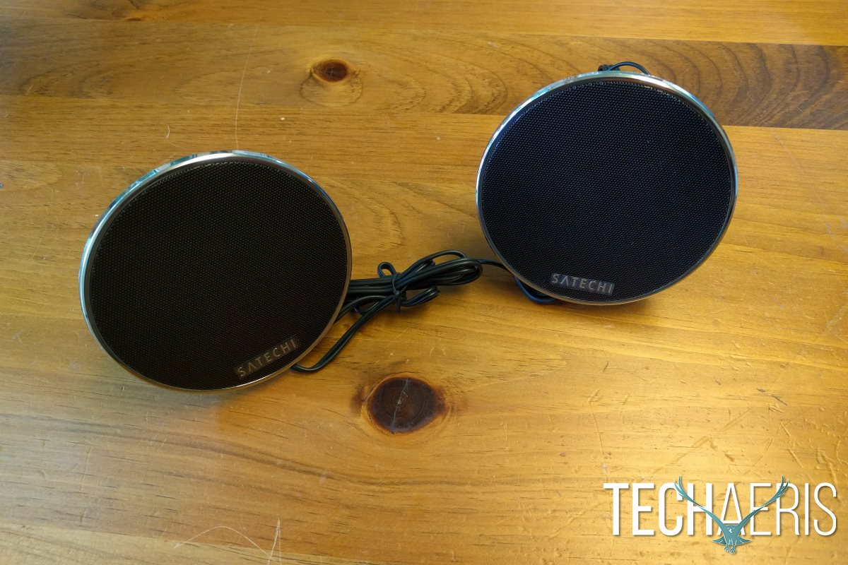 satechi-dual-sonic-conical-speaker-review-front