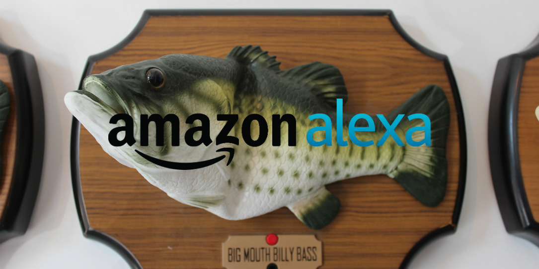 Alexa hacked into big mouth billy bass for Billy bass fish