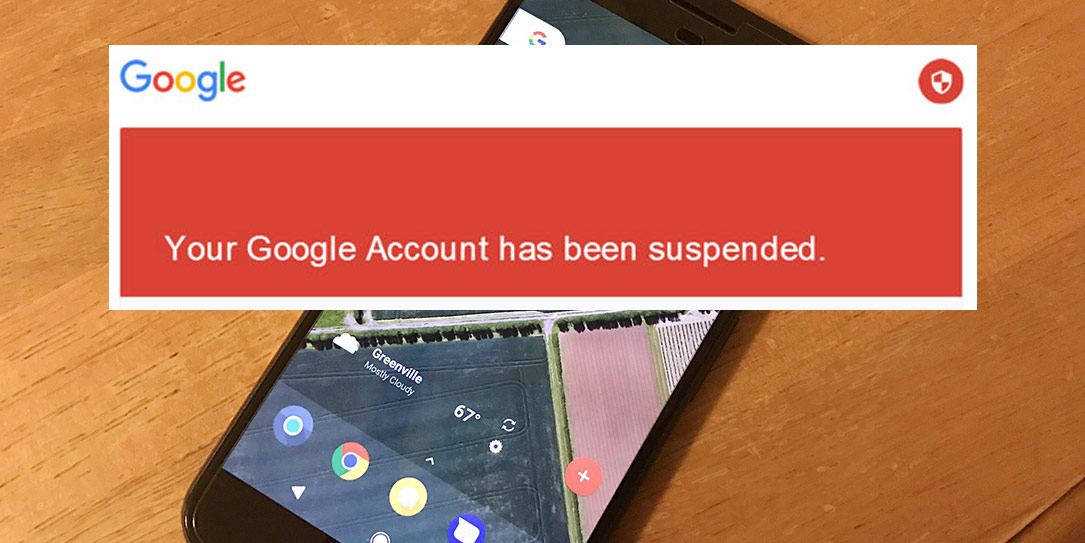 google-accounts-suspended-pixel