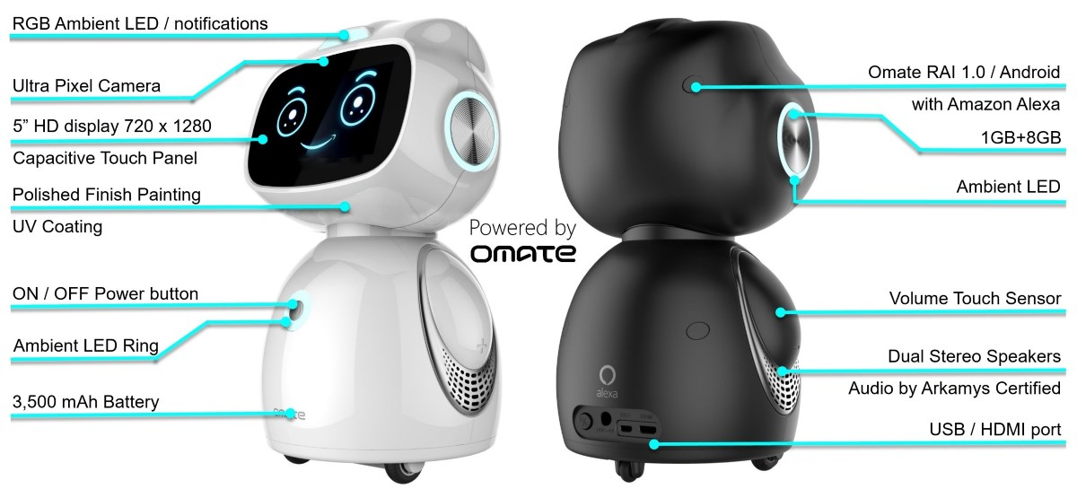 omate-yumi-specs-description