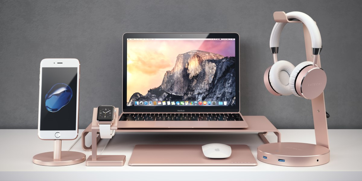 satechi-apple-desktop-bundle-rose-gold