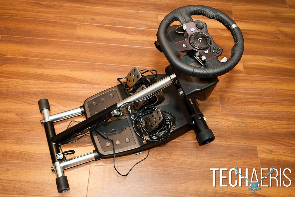 how to build a racing wheel stand