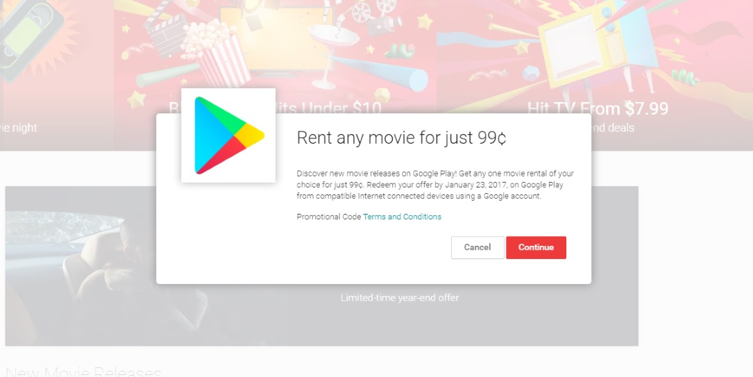 Google Play, Amazon Video offering $0 99 video rentals for