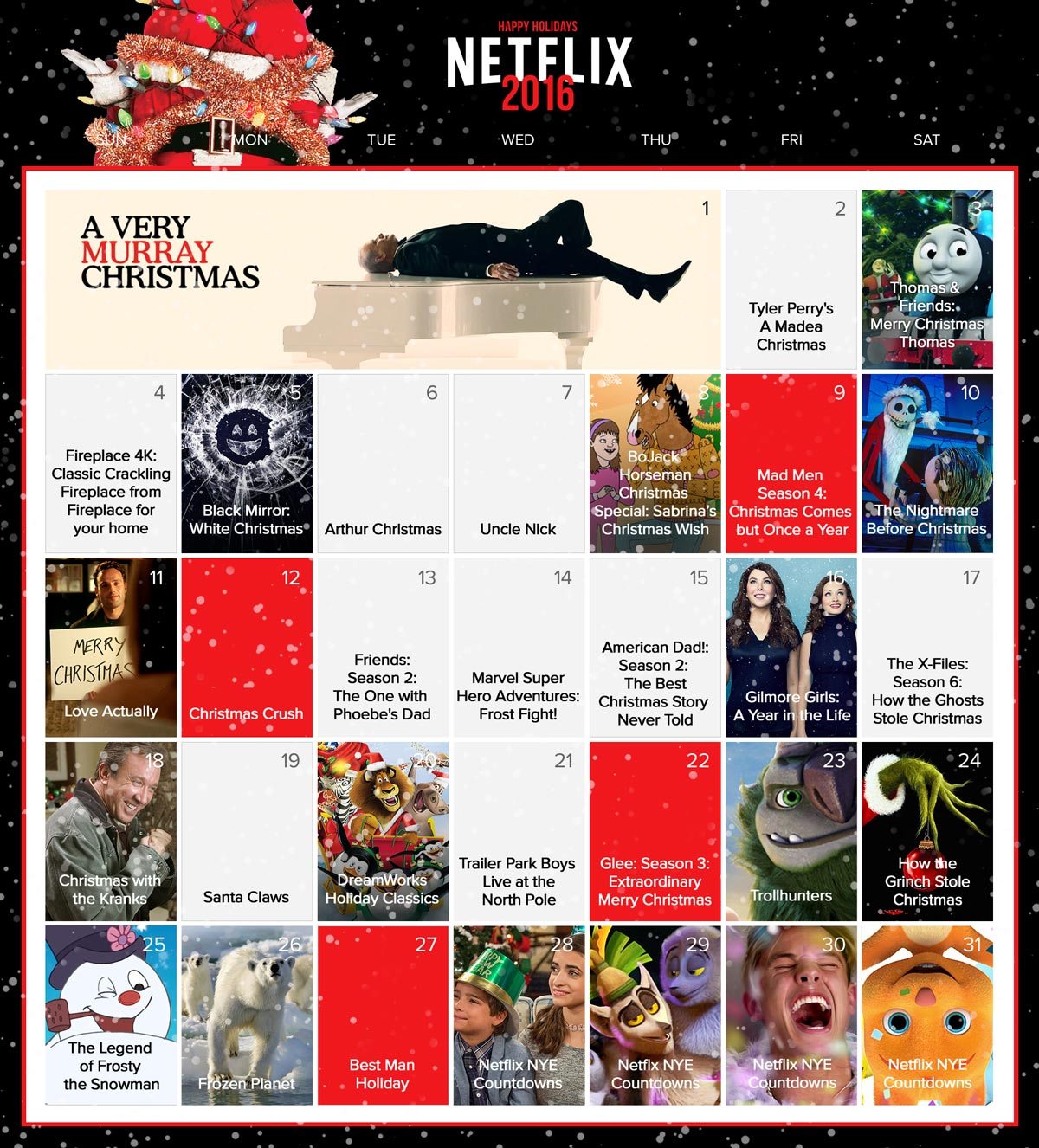 Netflix-Canada-holiday-viewing-calendar