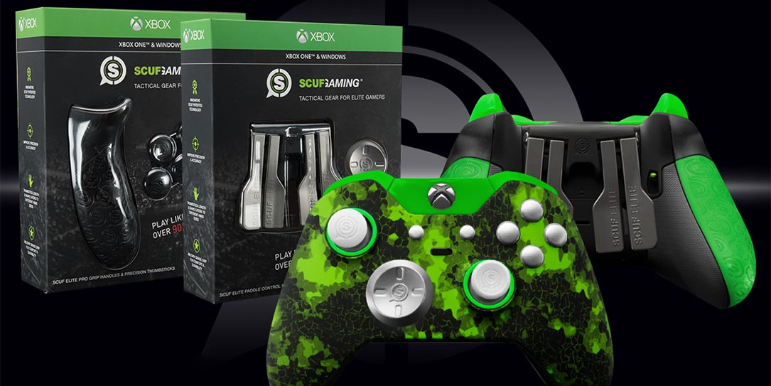 Customize your Xbox Elite Wireless Controller with Scuf Gaming on