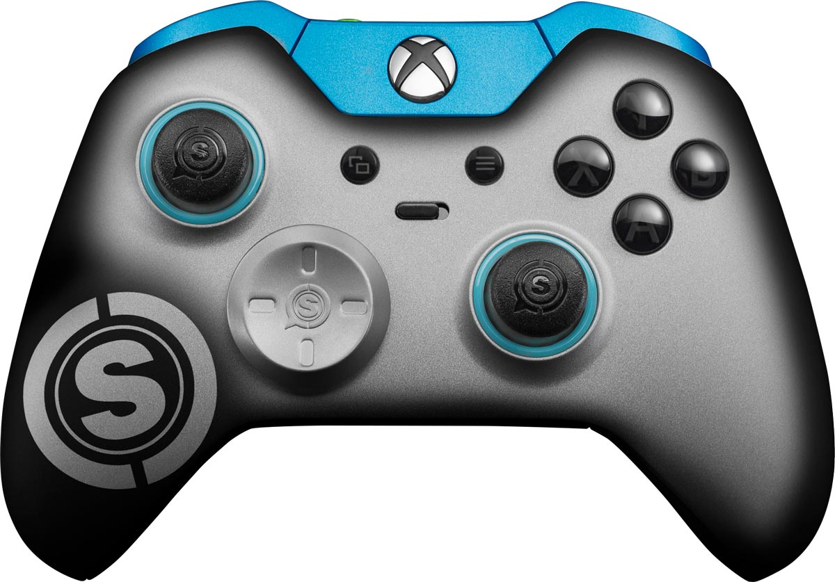 SCUF_Elite_Xbox_Controller_Silver-Anodized-Front