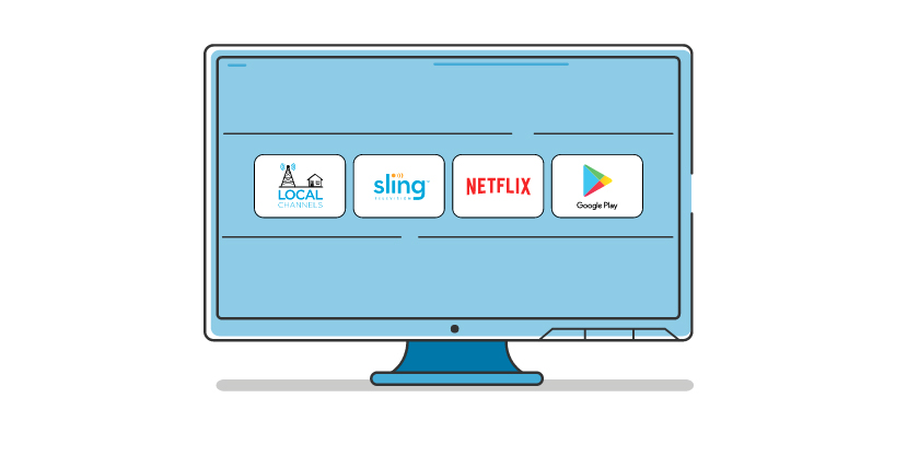AirTV Player conveniently brings all your TV watching together.