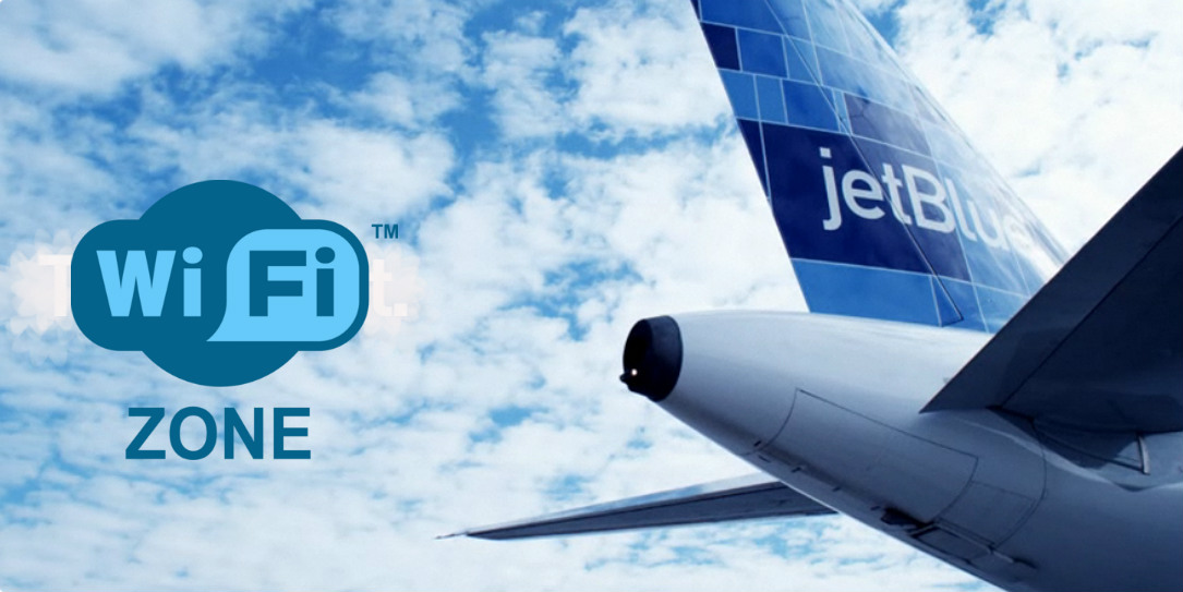 Free wifi for JetBlue passengers