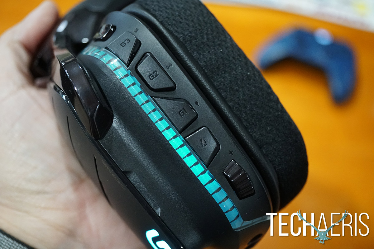 Logitech G933 Artemis Spectrum review: Full featured gaming headphones