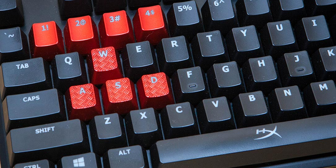 c6bf3163378 HyperX Alloy FPS review: A simple, compact Cherry MX Blue mechanical gaming  keyboard