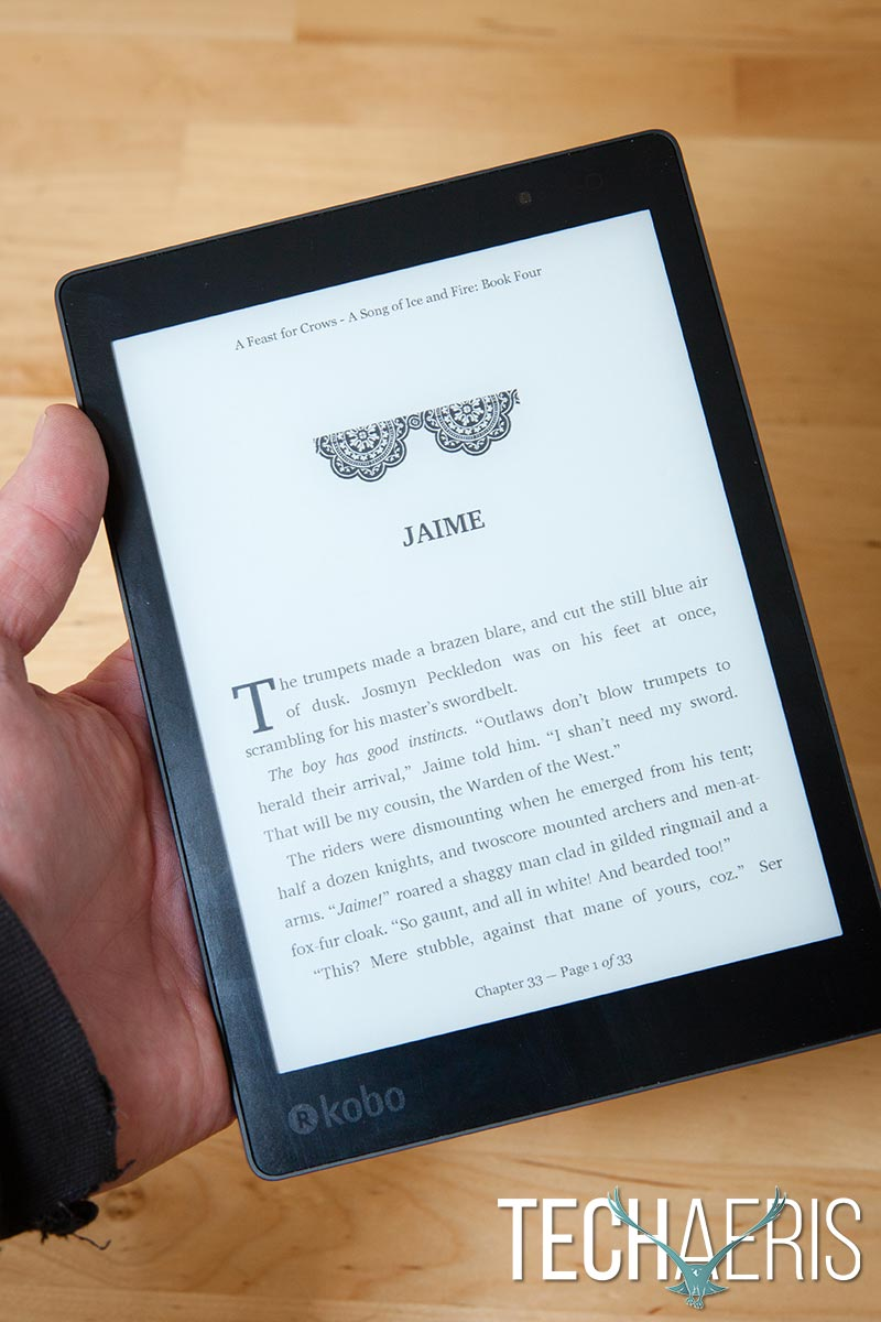 Kobo Aura ONE review: A large waterproof eReader with OverDrive support