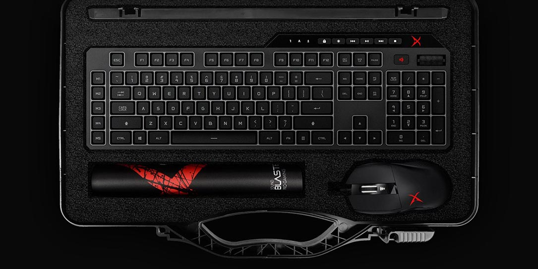 Creative adds gaming keyboard and mouse to Sound BlasterX pro-gaming