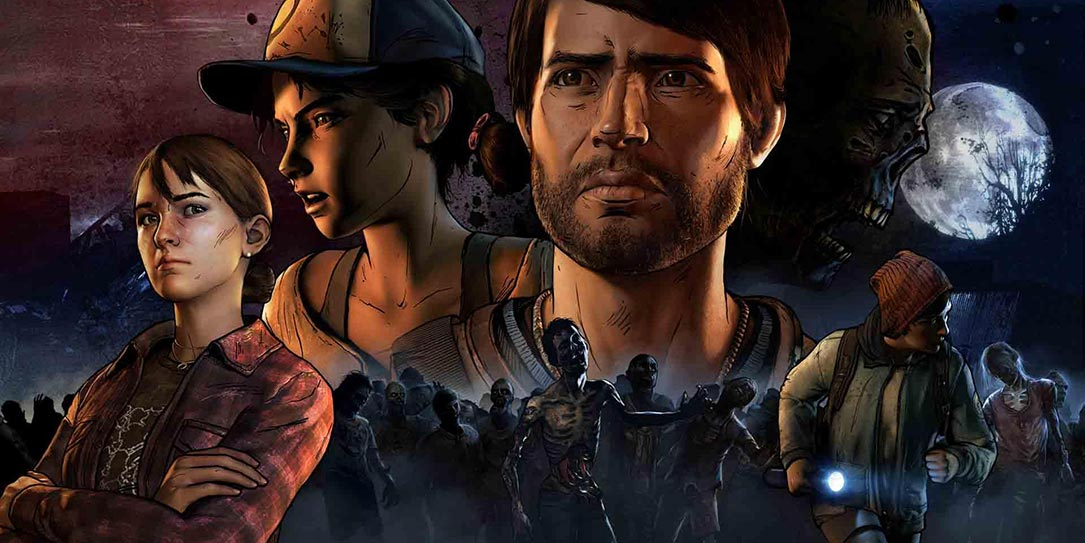 Telltale shows off in-game footage of The Walking Dead's final season