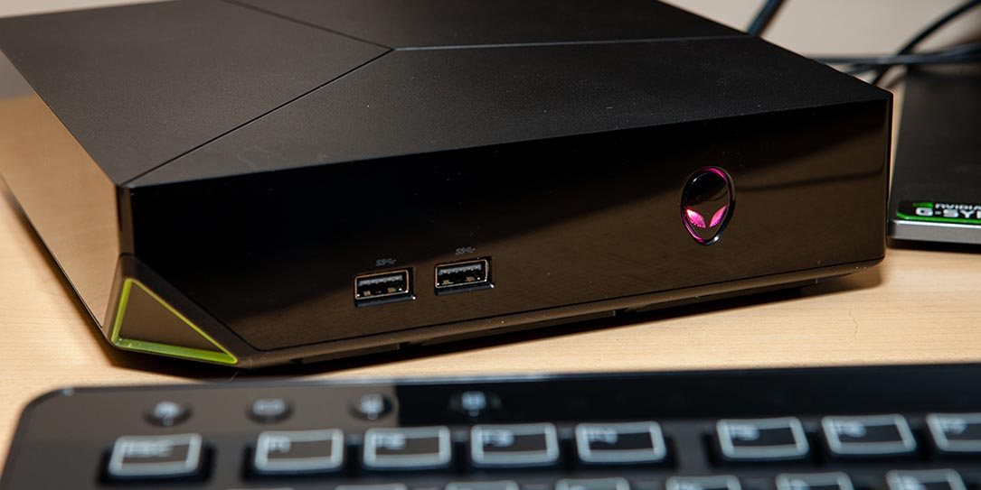 Alienware Graphics Amplifier Review >> Alienware Alpha R2 review: PC gaming in a compact package