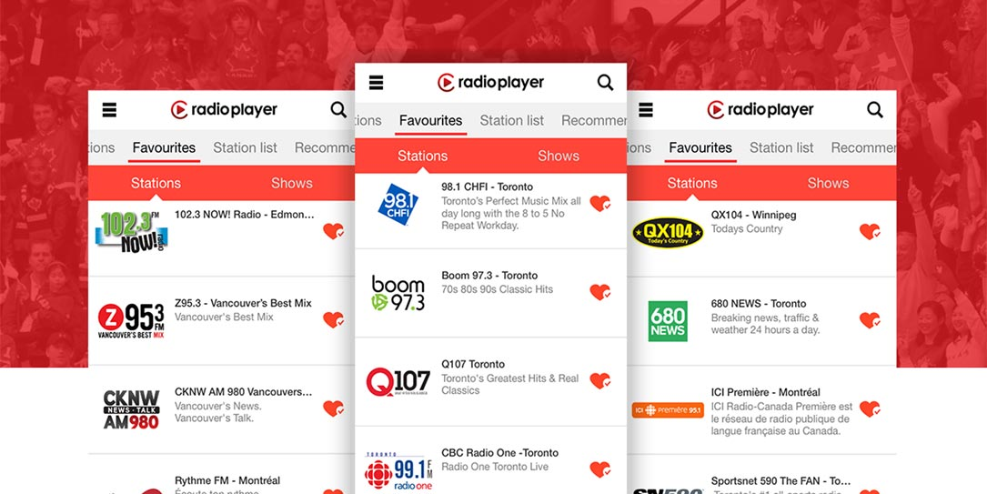 Radioplayer app launches in Canada, includes over 400 radio