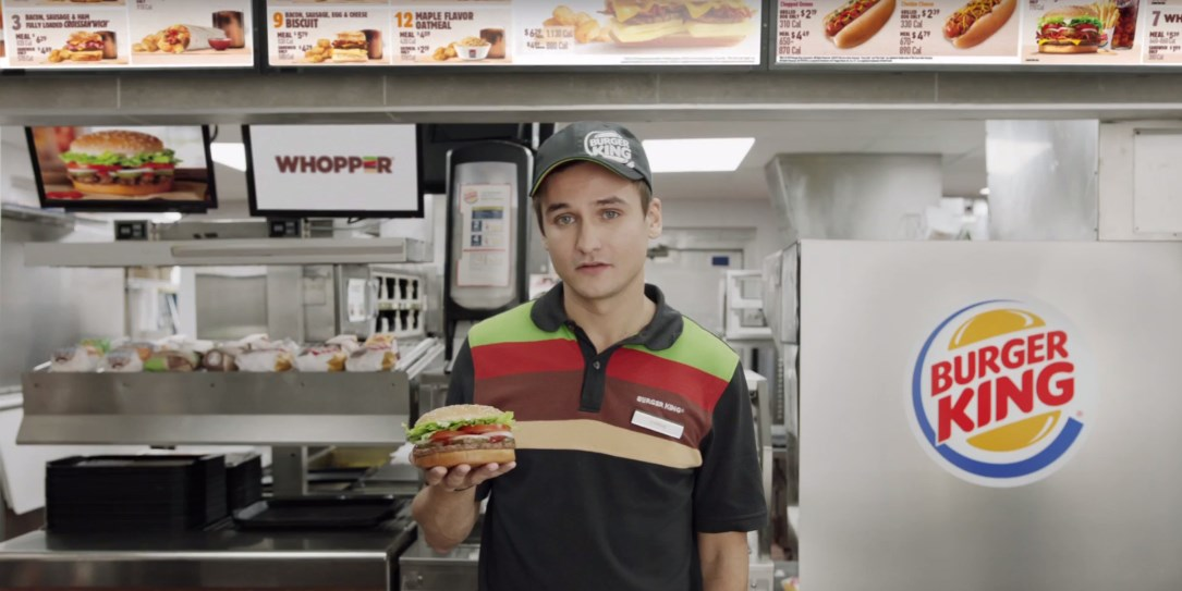 Burger King's newest TV ad has a disastrous flaw