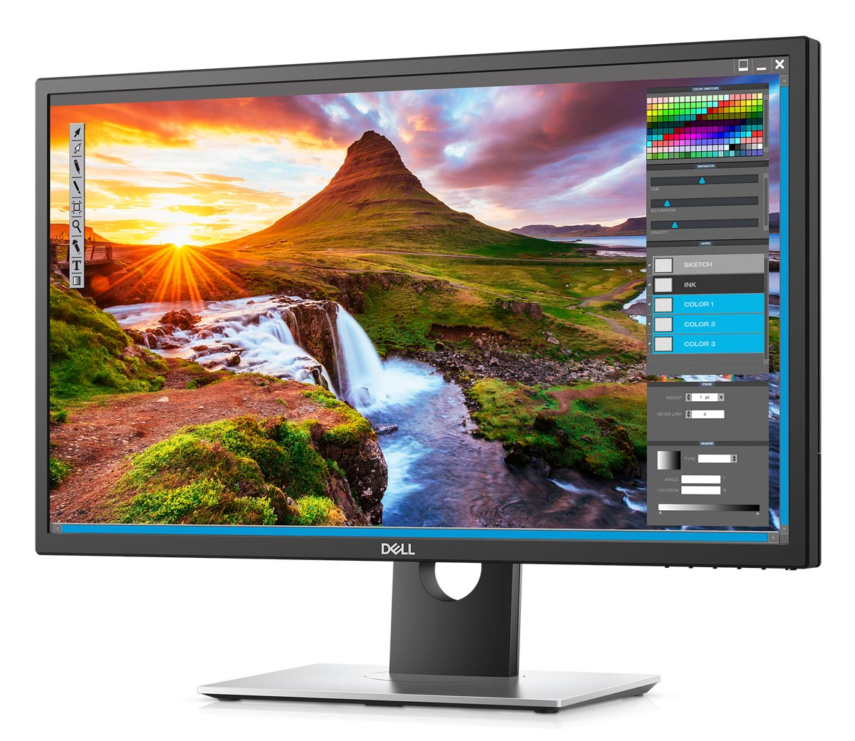 Dell-UltraSharp-4K-HDR-Monitor-Photoshop