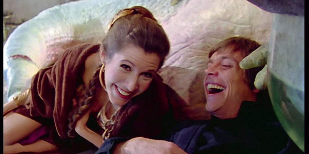 The Star Wars YouTube channel drops wonderful Carrie Fisher Tribute