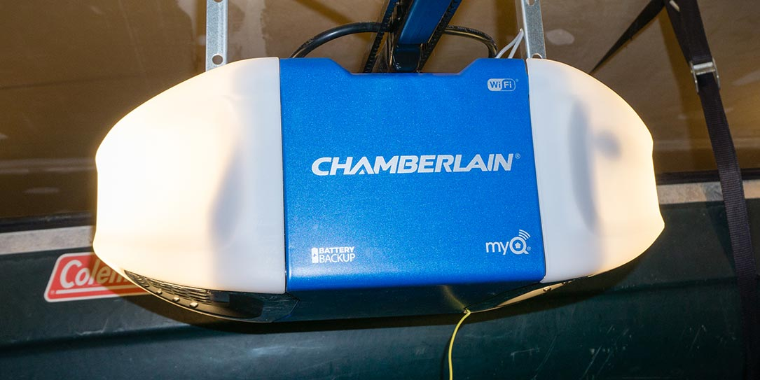 Chamberlain Wi Fi Garage Door Opener Review Operate And Monitor