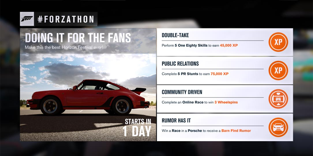 If You Havent Picked Up The Porsche Car Pack Or Completed A Recent Forzathon Even May Have To Hit Auction House Complete This Weekends Event