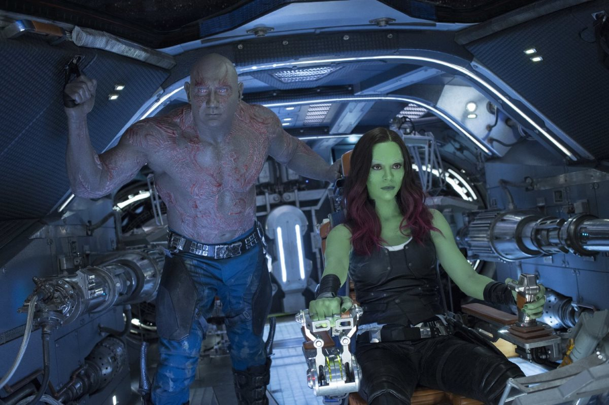 Guardians of the Galaxy Vol. 2 Drax and Gamora