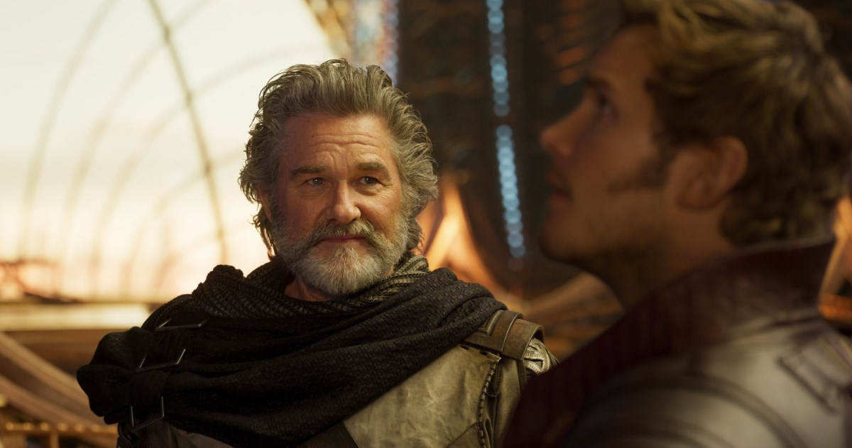 Guardians of the Galaxy Vol. 2 Ego and Peter