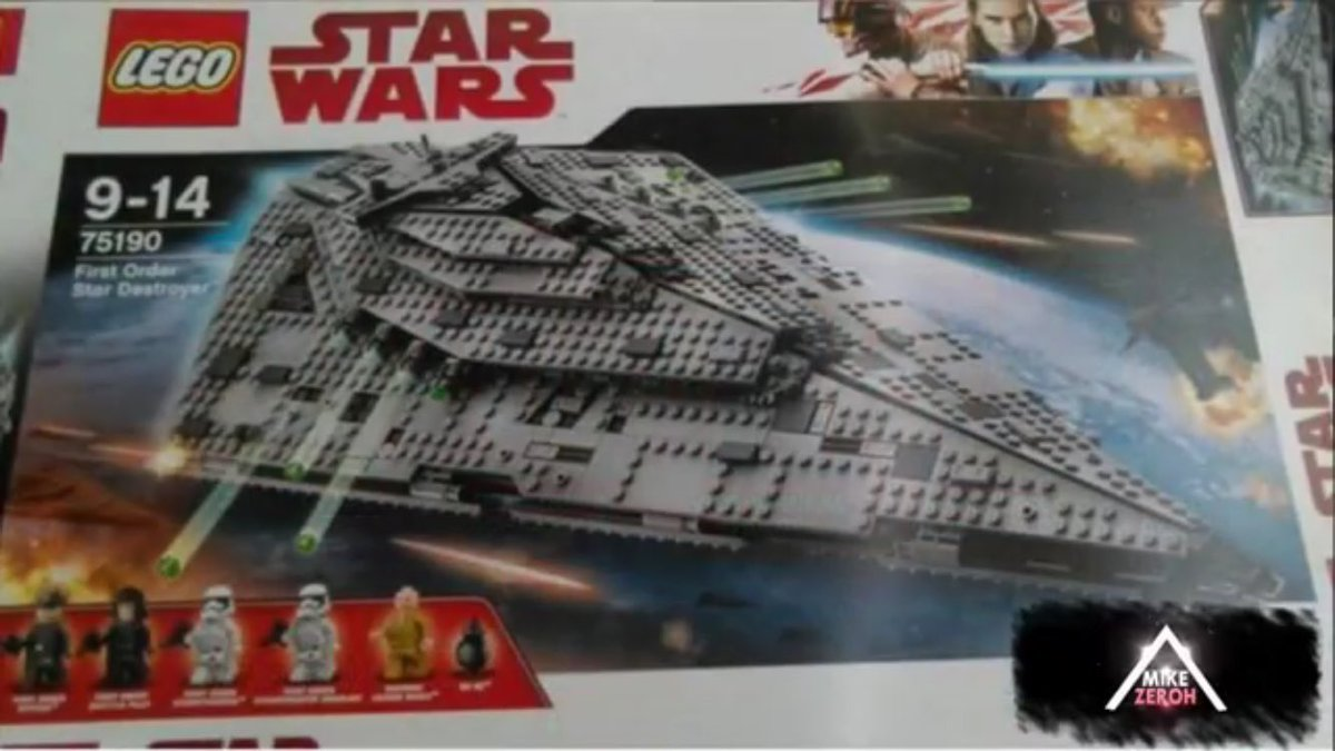 Unofficial Star Wars The Last Jedi Lego Sets Tease New