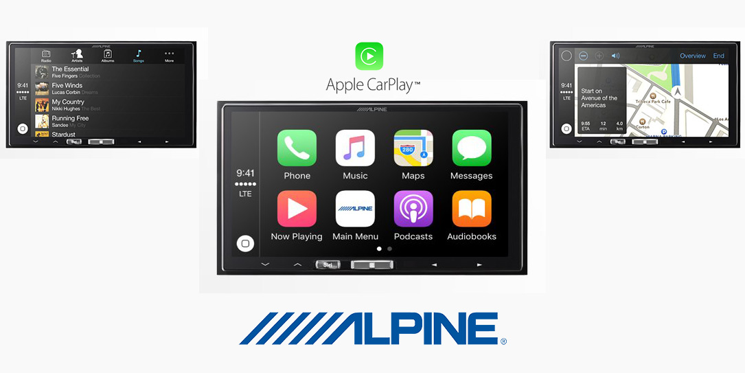 the alpine ilx 107 is the first aftermarket deck with. Black Bedroom Furniture Sets. Home Design Ideas