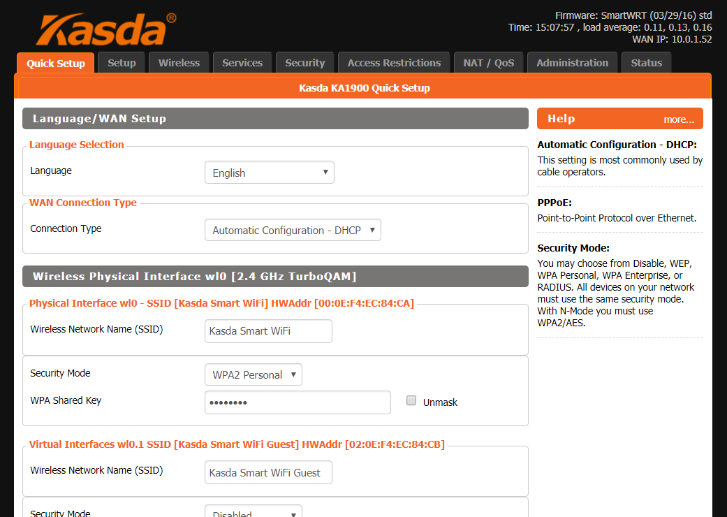 Kasda-Web-Interface