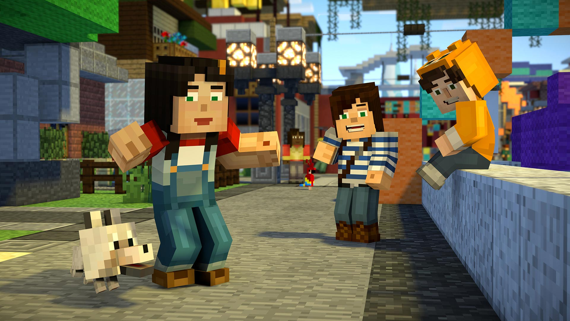 Telltale's Minecraft: Story Mode Season 2 will debut in July