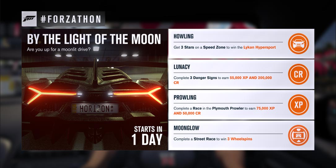 Forzathon July 21-23rd: Earn the Lykan Hypersport