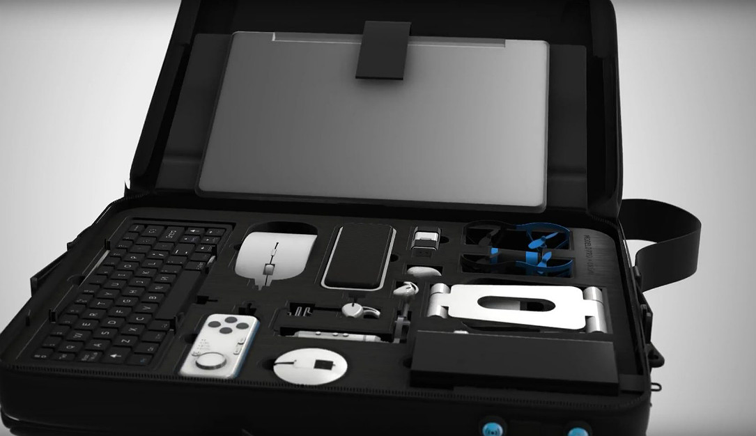 Suitcase Computer wants to be your versatile tech briefcase