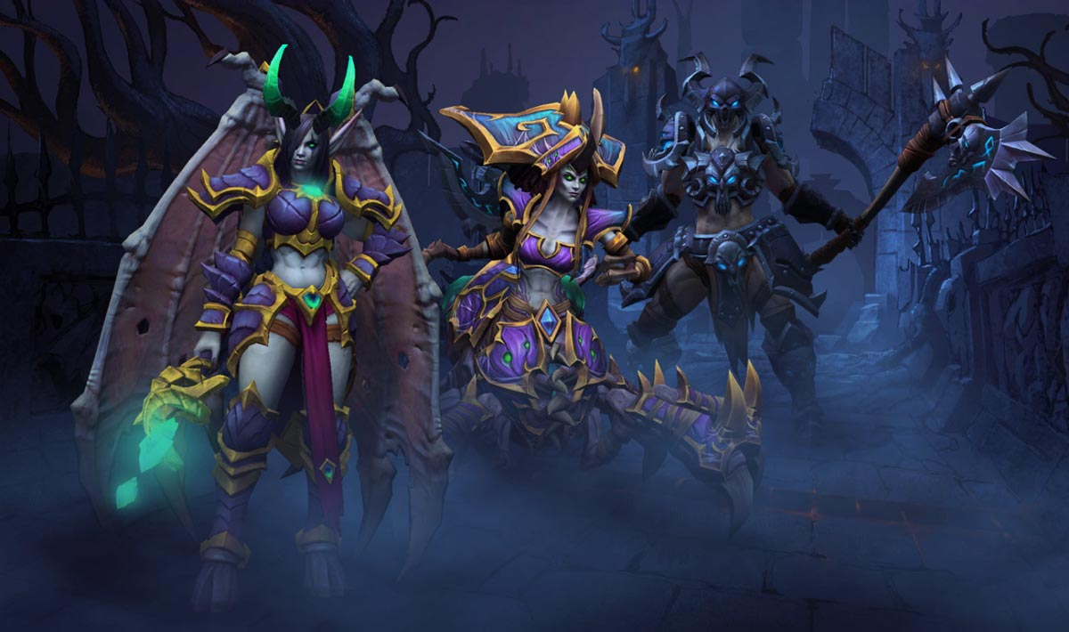 Call-of-Kel'Thuzad-skins