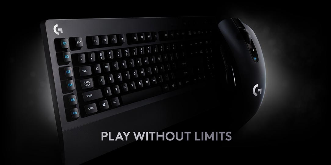 logitech unleashes high performance wireless gaming mouse and keyboard. Black Bedroom Furniture Sets. Home Design Ideas