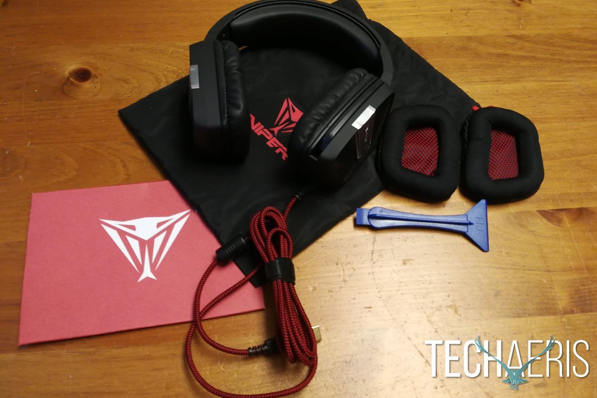 Earbuds disposable - Patriot Viper V370 - headset Overview