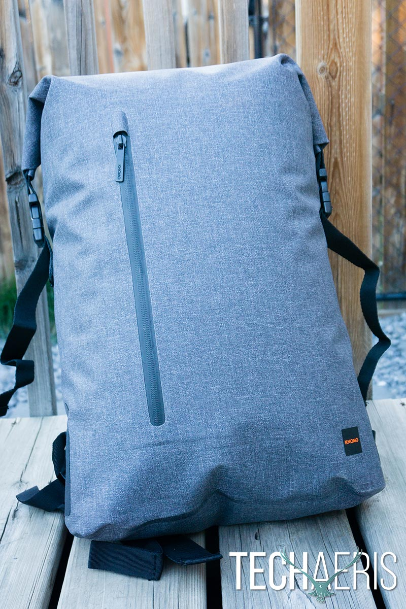 37b9de5d4fad KNOMO Cromwell review  A large roll top backpack with tons of room