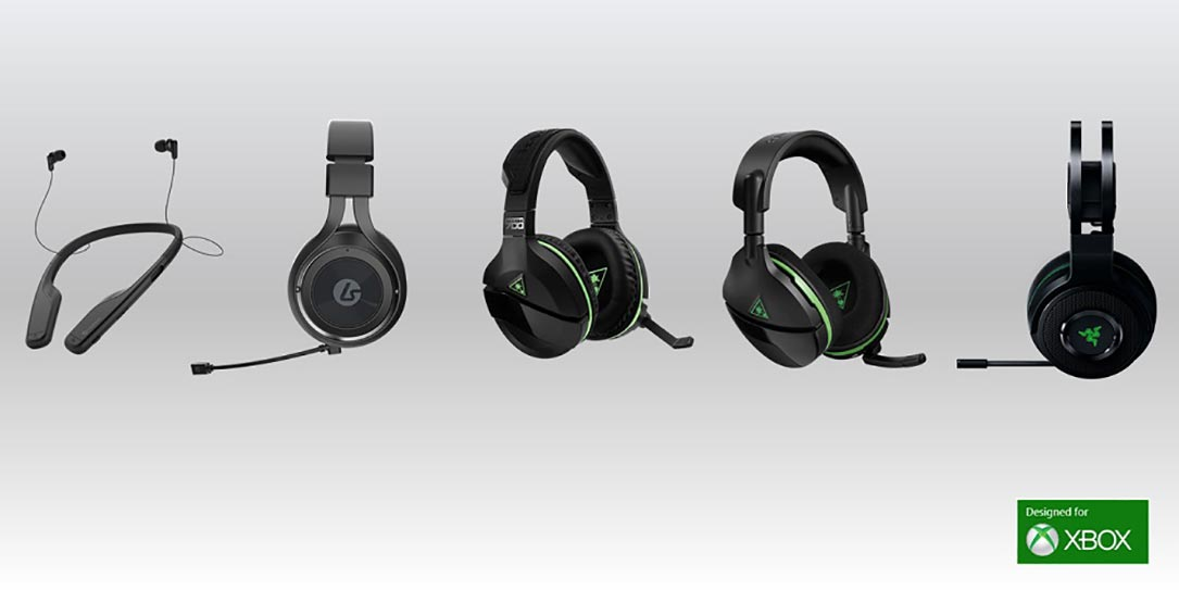 Xbox-Wireless-gaming-headsets