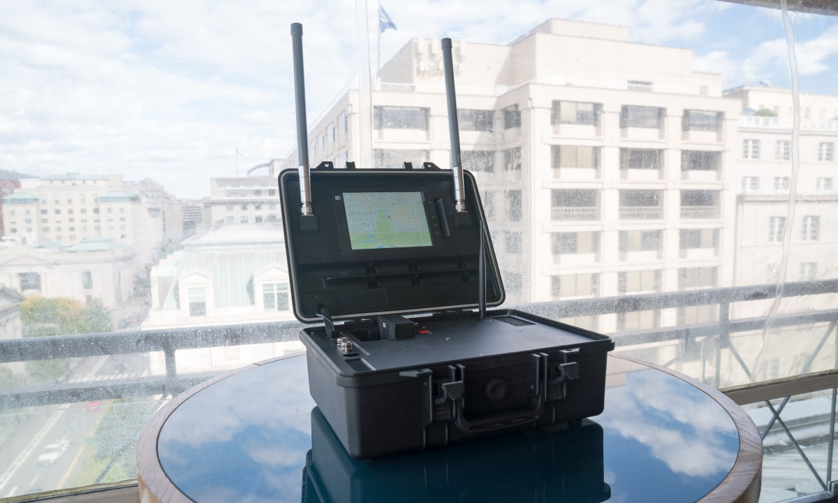 Dji Demos Aeroscope A Quot Drone License Plate Quot As Well As