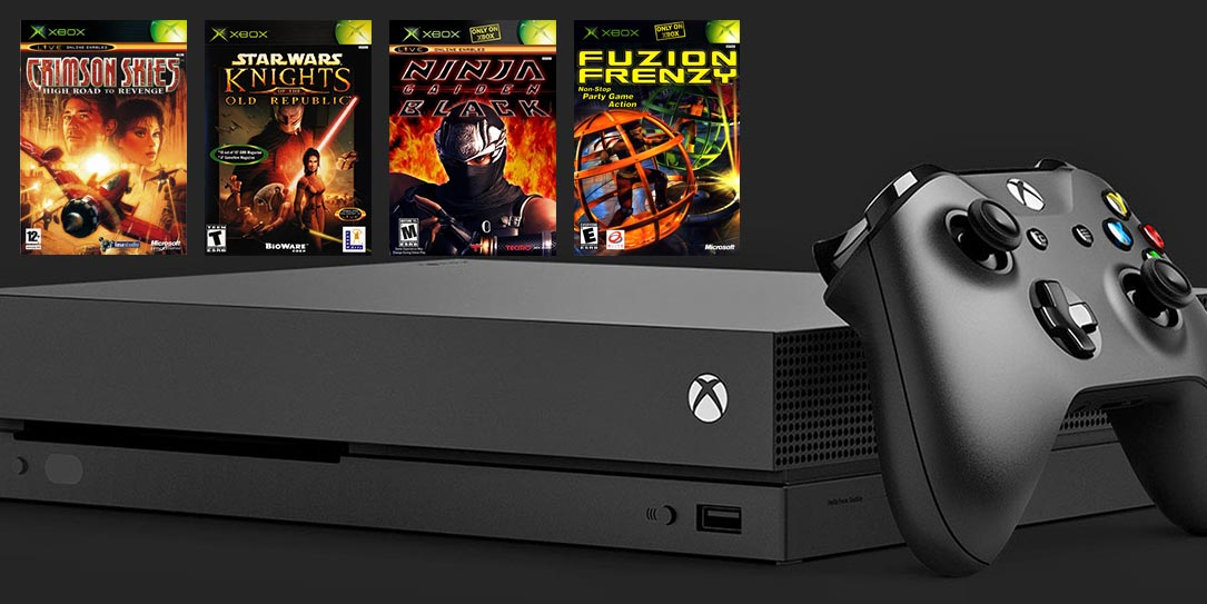 Original Xbox backward compatibility hits Xbox One tomorrow