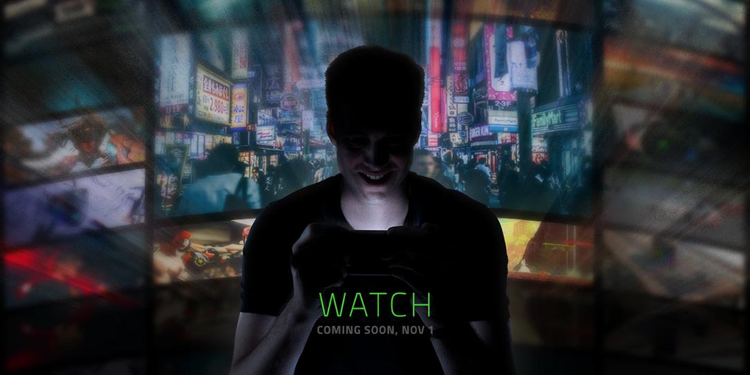 Razer teases 1 November event, likely for a new smartphone