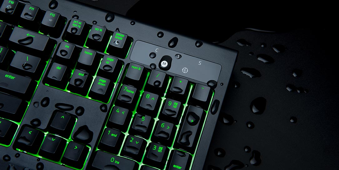 Razer Blackwidow Ultimate Now Dust and Water Resistant