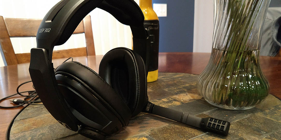 a3d3c7bd2b4 Sennheiser GSP 302 review: A closed acoustic gaming headset for ...