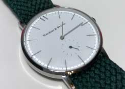 Wardour & Brewer Silverstone Silver Watch