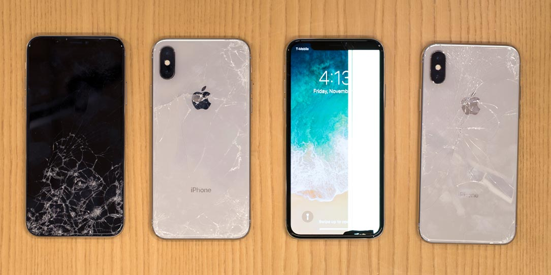 مدل چادرربندری SquareTrade iPhone X Breakability