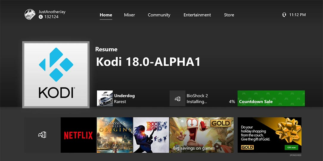 Kodi app spotted on Xbox One in a few locations from Europe