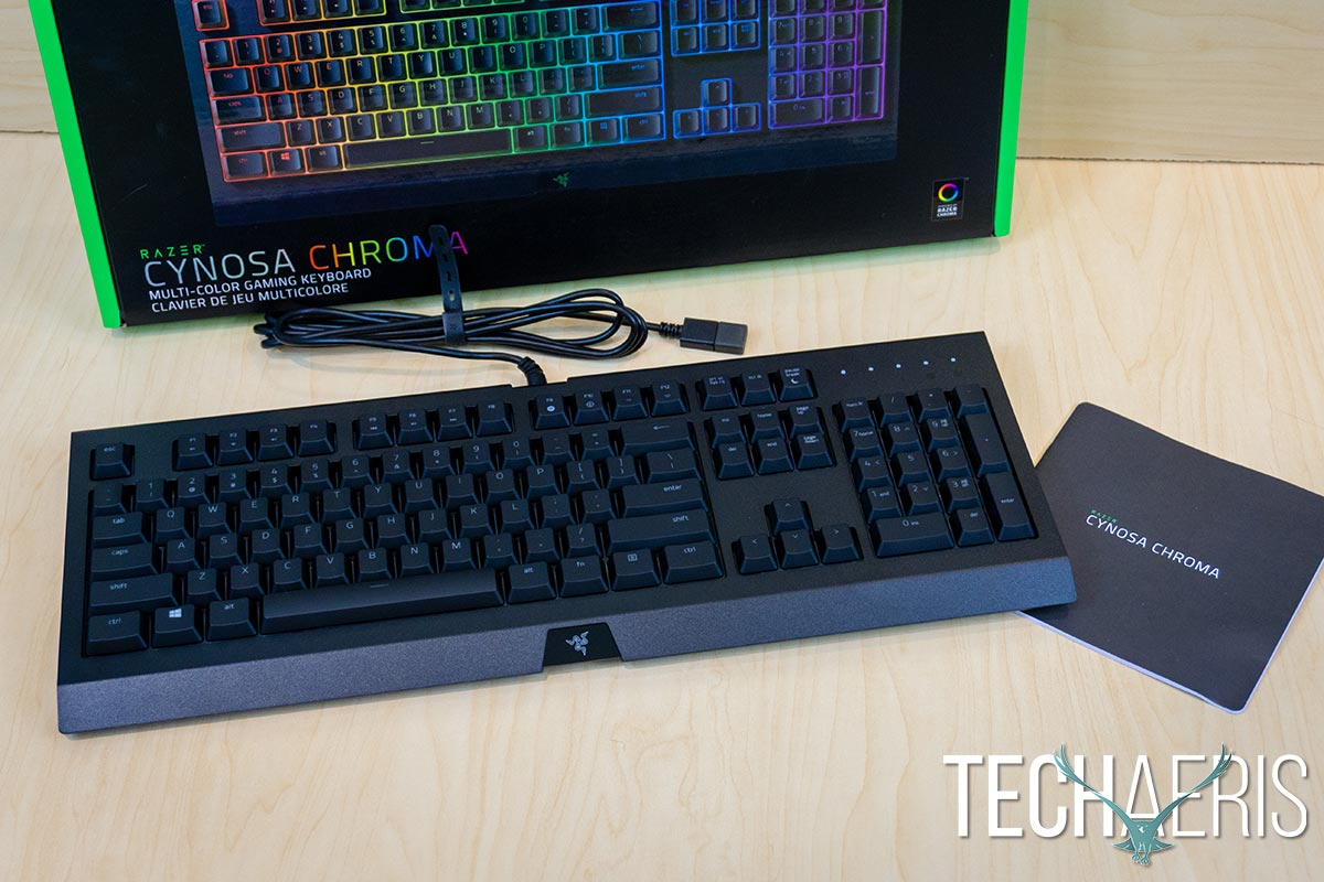 b1fb8c066e4 Razer Cynosa Chroma review: A decent all-purpose gaming keyboard
