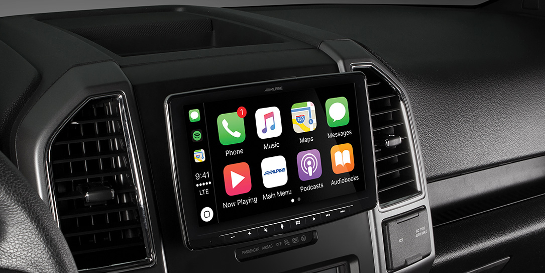 The Alpine Ilx F309 Brings A 9 Android Autocarplay Display Into