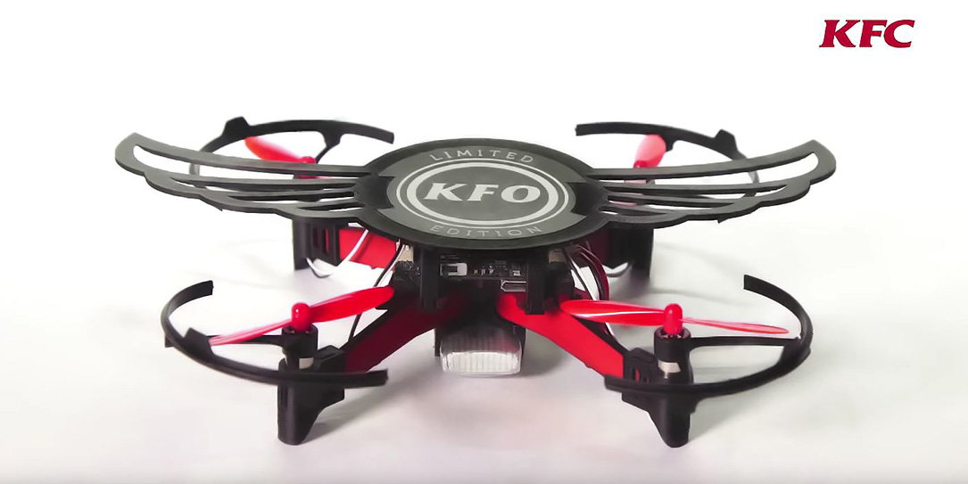 Drones Are Included With KFC Meals In India For Limited Time