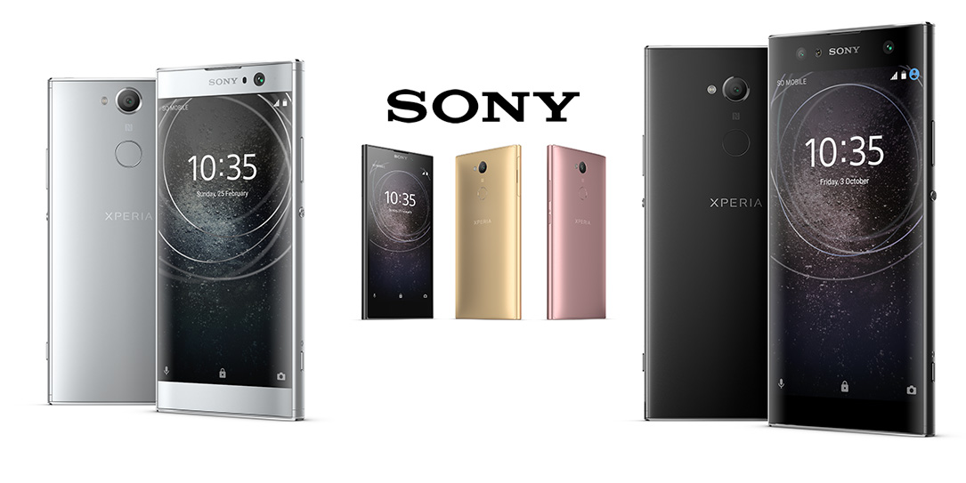 Sony unveils three new Xperia smartphones at CES 2018
